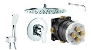 Podtynkowy zestaw prysznicowy Kludi Balance XXL 300