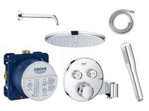 Podtynkowy zestaw prysznicowy termostatyczny Grohe Smartcontrol 210