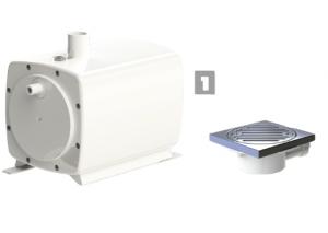 Pompa ssąco-tłocząca SFA Sanifloor 1
