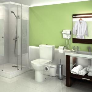 Pompa Sfa Saniaccess 3 do łazienki z rozdrabniaczem