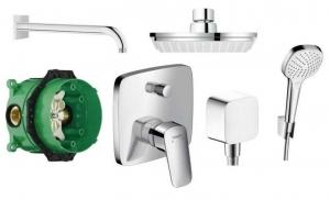 Prysznicowy zestaw podtynkowy Hansgrohe Logis 150