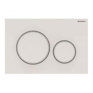 Przycisk Geberit Sigma20 115.882.11.1 biały/biały