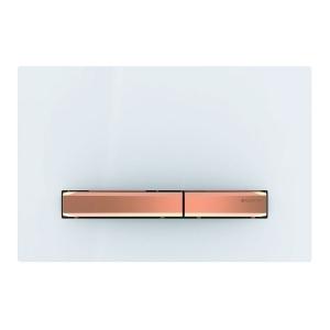 Przycisk Geberit Sigma50 do UP320 biały/czerwone złoto 115.670.11.2