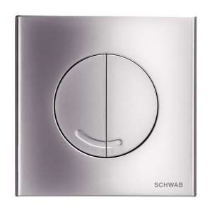 Przycisk Schwab Veria Duo chrom mat 4060414631 do wc