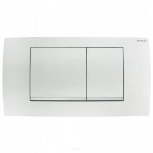 Przycisk wc Geberit TwinLine30 115.899.KJ.1 biały-chrom