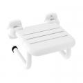 Roca Access Pro siedzisko prysznicowe składane biały vinyl A816962009