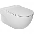 Roca Meridian-N miska WC wisząca Rimless z deską slim wolnoopadającą A34H240000