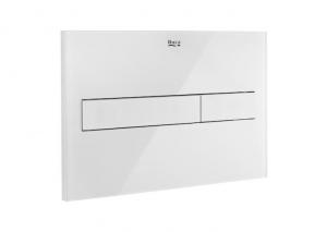 Roca PL7 przycisk spłukujący biały mat/szkło połysk A890088309