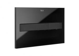 Roca PL7 przycisk spłukujący czarny mat/szkło połysk A890088308