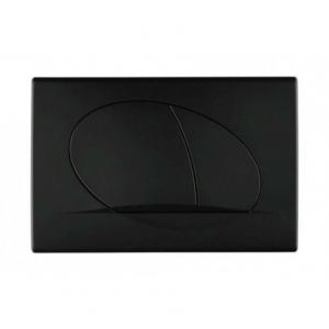 Schwab Ovate Duo Black przycisk czarny mat 681008