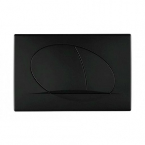 Schwab Ovate Duo Black przycisk czarny mat