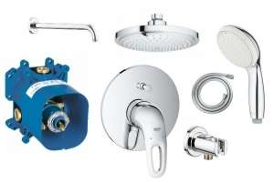 Shower set Grohe Eurostyle 180
