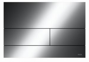 TECE Square przycisk spłukujący do WC z metalu czarny chrom połysk 9.240.837