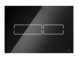 Tece Lux Mini przycisk spłukujący szkło czarne 9.240.961