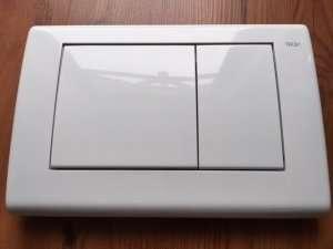 Tece Planus przycisk do wc biały połysk 9.240.324