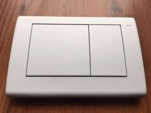 Tece Planus przycisk do wc biały matowy 9240322