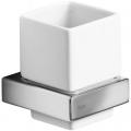 Teka Formentera kubek z uchwytem ceramicznym biały/chrom 170810200