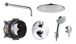 Termostatyczny pakiet prysznicowy Ecostat Fresh 250