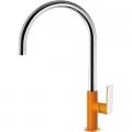 Tres Loft Colors bateria kuchenna pomarańczowa/chrom 200.440.02.NA