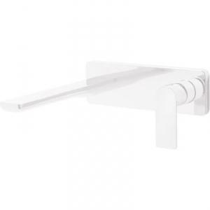 Tres Loft White bateria umywalkowa podtynkowa biały mat 200.200.02.BM