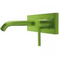Tres Study Colors bateria umywalkowa podtynkowa zielona 262.200.50.TVE