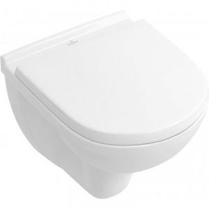 Villeroy & Boch O.Novo combi-Pack zestaw miska WC CeramicPlus z deską wolnoopadającą 5688H1R1
