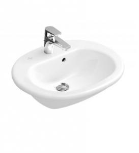 Villeroy & Boch O.Novo umywalka do wbudowania z przodu blatu CeramicPlus 416055R1