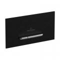 Villeroy & Boch ViConnect E300 przycisk spłukujący do WC czarny mat 922169AN