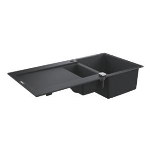 ZLew kuchenny Grohe K500 60-C czarny graniyt 31646AP0