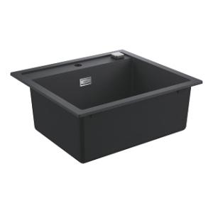 ZLew kuchenny Grohe K700 czarny granit 31651AP0