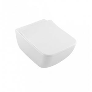 Zestaw miska wc z deską wolnoopadającą Villeroy Boch Collaro slim 4626RS01