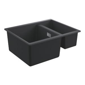 Zlew kuchenny Grohe K500 60-C 31648AP0 czarny granit