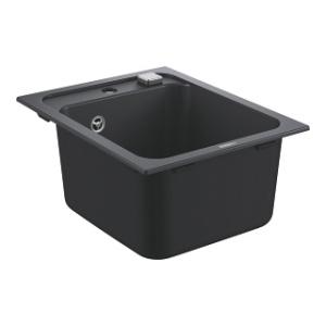 Zlew kuchenny Grohe K700 czarny granit 31650AP0