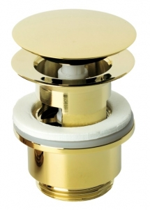 Złoty korek klik-klak Damixa Silhouet Gold 2385077