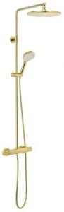 Złoty zestaw termostatyczny Damixa Silhouet Gold 5795477