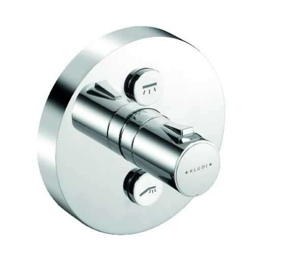 Termostatyczna podtynkowa bateria prysznicowa Kludi Push 388120538-image_Kludi_388120538_1