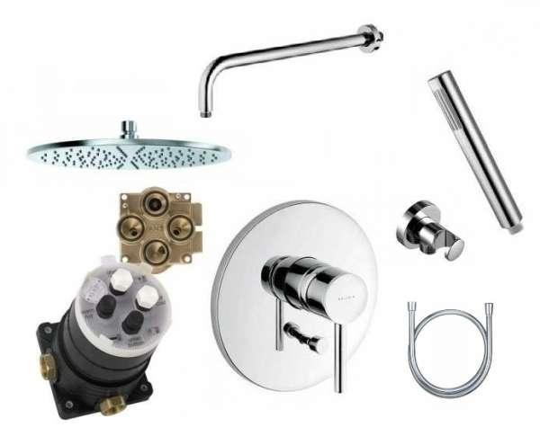 Podtynkowy zestaw prysznicowy z deszczownicą 300 - Kludi Bozz XXL-image_Kludi_KL/BOZZ/XXL_1