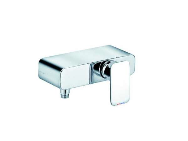 Ścienna bateria prysznicowa Kludi E2 497140575 do kompletowania z dowolnym zestawem prysznicowym.-image_Kludi_497140575_1