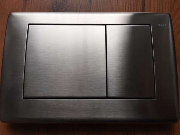 Przycisk spłukujący Tece Planus 9.240.320 w stali nierdzewnej do spłuczek podtynkowych marki Tece.-image_Tece_9.240.320_1