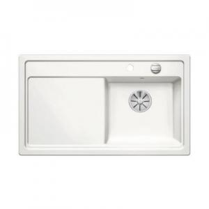 Zlew kuchenny Blanco Zenar 45 S prawy biały połysk 524151-image_Blanco_524151_1