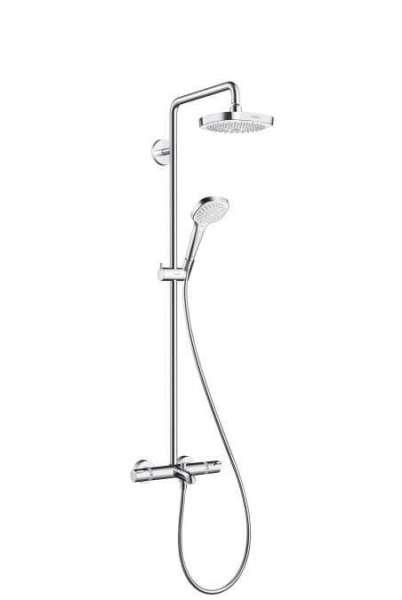 Wannowy showerpipe Hansgrohe 27352400 - termostatyczna bateria wannowa ze zintegrowaną deszczownicą.-image_Hansgrohe_27352400_1