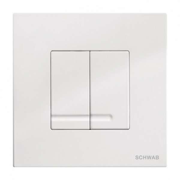 Schwab Arte Duo biały przycisk do spłuczek podtynkowych Duplo 380-image_Grohe_ 27139000_1