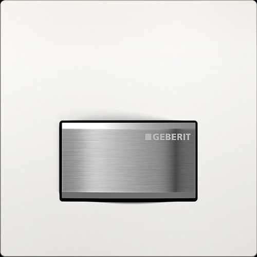 Geberit Sigma50 pneumatyczny przycisk uruchamiający do pisuaru biały 116.016.11.1, przycisk pasuje tylko do stelaży podtynkowych firmy Geberit.-image_Geberit_116.016.11.5_1