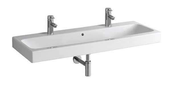 Geberit umywalka iCon 120cm, z dwoma otworami, z przelewem 124020-image_Geberit_124020-000_1