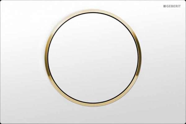 Przycisk uruchamiający Geberit Sigma10, przedni, biały-złoty-biały 115758kk5-image_Geberit_115.758.KK.5_1