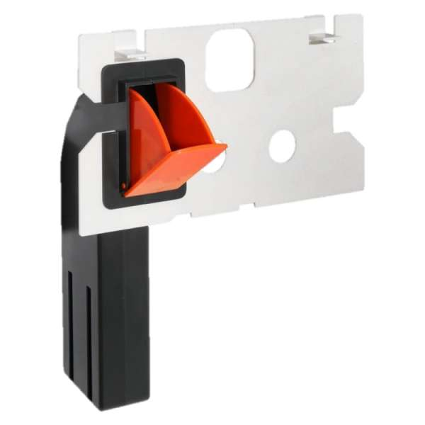 Nowość, uniwerslany pojemnik na kostki higieniczne pasujący do spłuczki Geberit Duofix Basic UP100 -image_Polana_FreshSP100_1