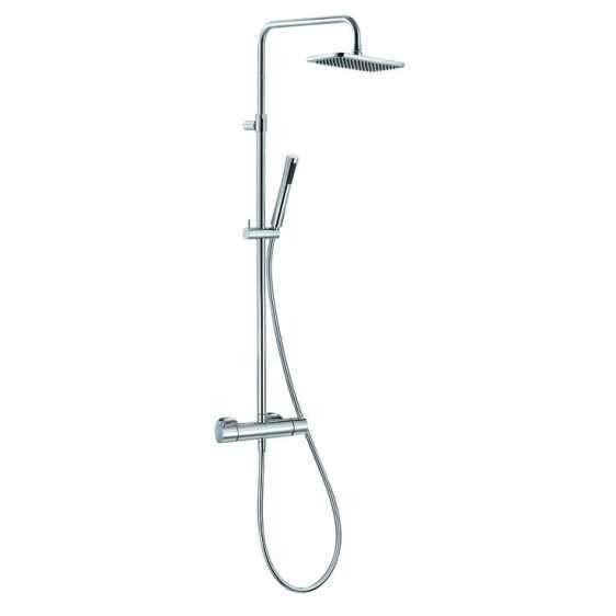 Natynkowy zestaw prysznicoy z termostatem i zintegrowaną deszczownica Kludi Aqua Dual Shower 490950500.-image_Kludi_4909505-00_1