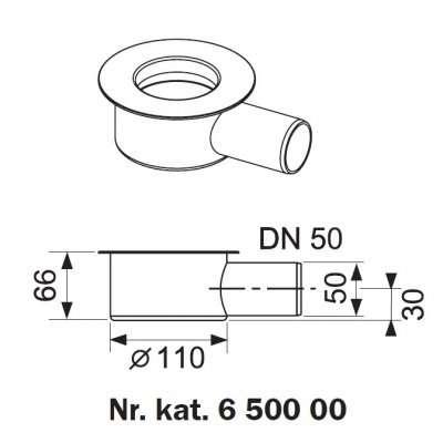 Tece kolanko odpływowe 650000-image_Tece_650000_1