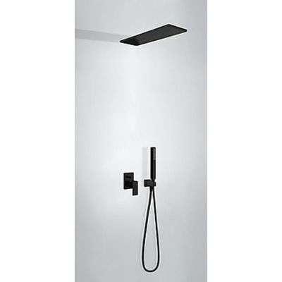 Prysznicowy zestaw podtynkowy z deszczownicą Tres Cuadro 00618003NM w wersji czarny mat-image_tres_00618003nm_1