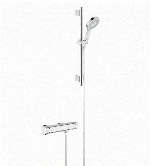 Grohe batweria prysznicowa termostatyczna ze słuchawka -image_Grohe_34281001_1